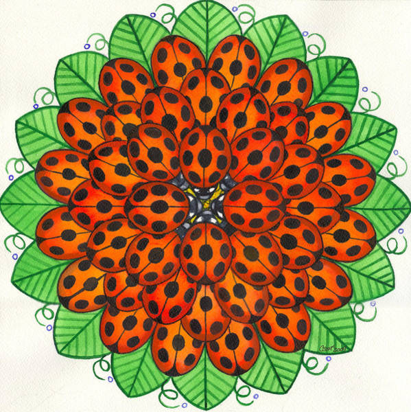 Painting - Ladybug Design by Catherine G McElroy