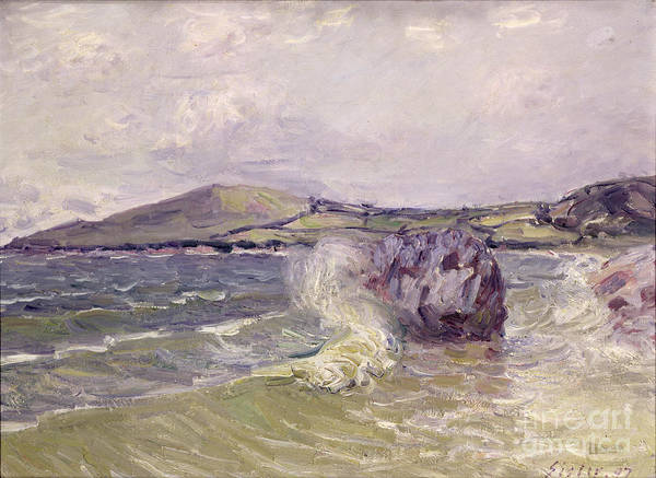 1897 Painting - Ladys Cove Wales 1897 by Alfred Sisley