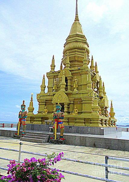 Koh Samui Photograph - Laem Sor Temple 1 by Randall Weidner
