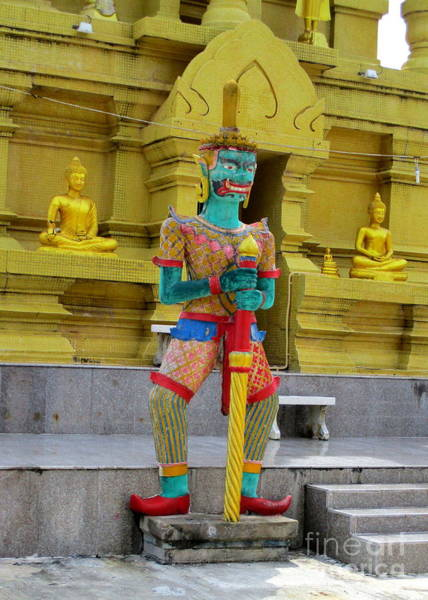 Koh Samui Photograph - Laem Sor Temple 2 by Randall Weidner