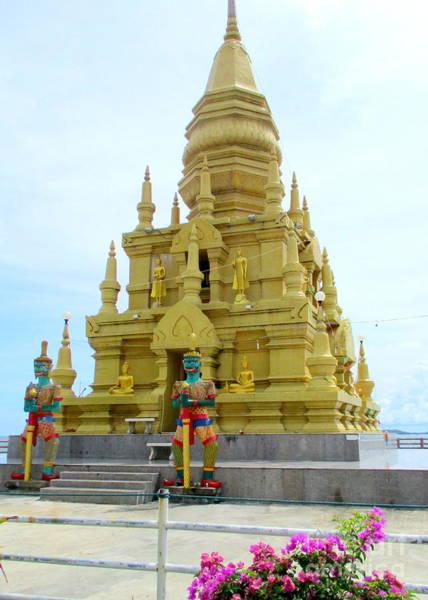 Koh Samui Photograph - Laem Sor Temple 3 by Randall Weidner