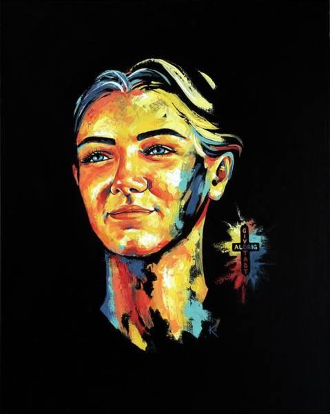 Painting - Laerke by Konni Jensen