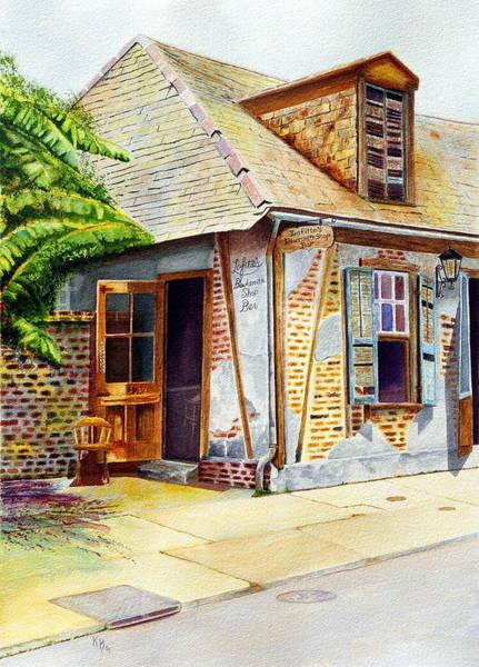 Painting - Lafittes Of New Orleans by Karen Fleschler