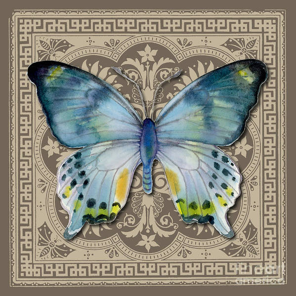 Painting - Laglaizei Butterfly Design by Amy Kirkpatrick