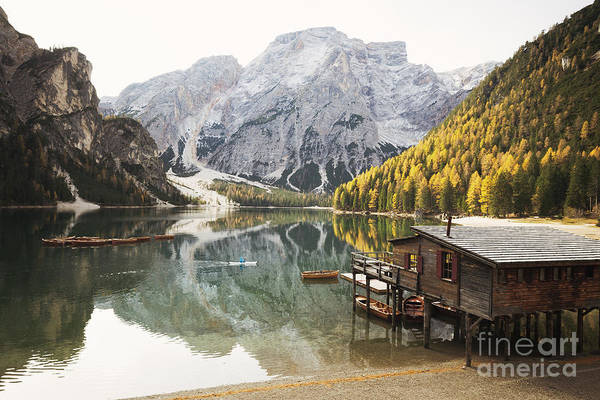 Wall Art - Photograph - Lago Di Braies by JR Photography
