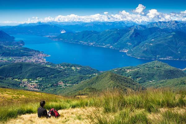 Photograph - Lago Maggiore Italy Switzerland by Matthias Hauser