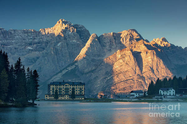 Pio Photograph - Lago Misurina Sunrise II by Brian Jannsen