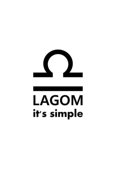 Digital Art - Lagom - Simple by Richard Reeve