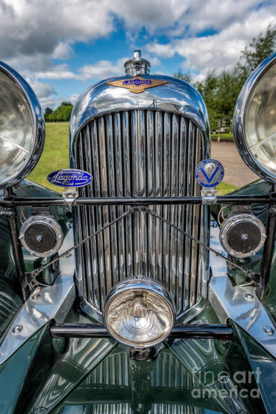 Wall Art - Photograph - Lagonda Classic by Adrian Evans