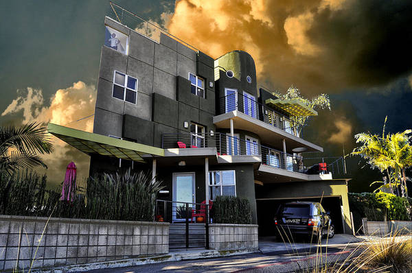 Digital Art - Lagoon House by Bob Winberry