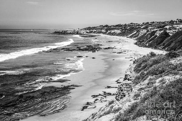 Crystal Coast Photograph - Laguna Beach Ca Black And White Photography by Paul Velgos