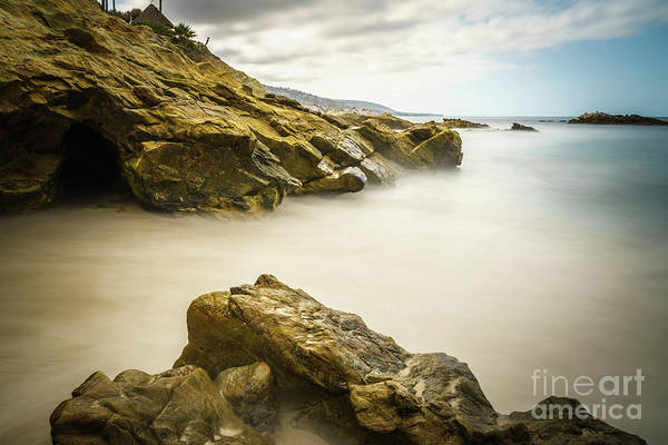 Wall Art - Photograph - Laguna Beach California Rock Formations by Paul Velgos