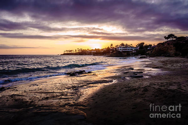 Wall Art - Photograph - Laguna Beach California Sunset Photo by Paul Velgos