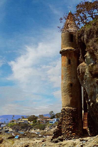 Victoria Tower Wall Art - Photograph - Laguna Beach Tower by Glenn McCarthy Art and Photography