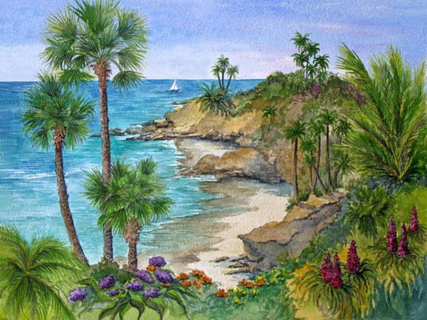 Laguna Beach Painting - Laguna Beach Vista by Bonnie Sue Schwartz