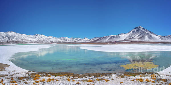 Wall Art - Photograph - Laguna Blanca In Bolivia by Delphimages Photo Creations