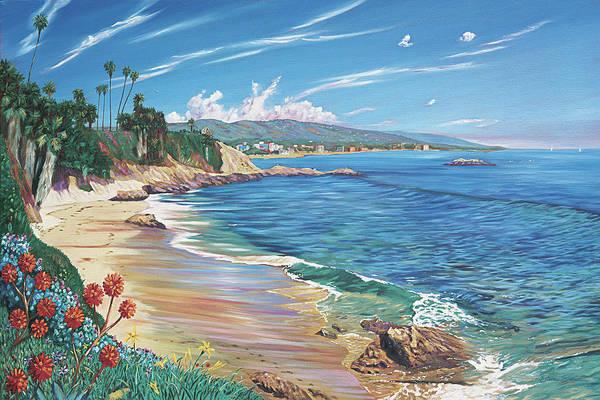 Wall Art - Painting - Laguna Color by Steve Simon