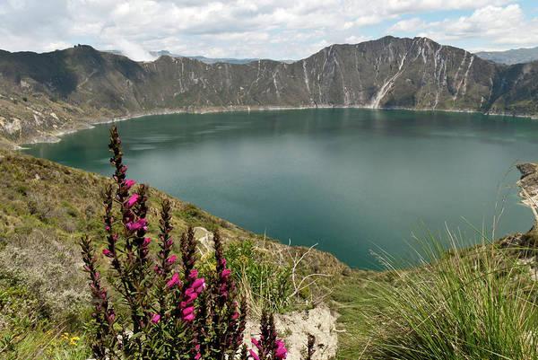Photograph - Laguna De Quilotoa Landscape by Cascade Colors