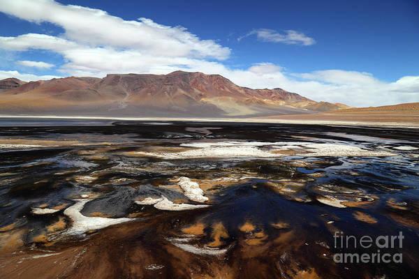 Photograph - Laguna Negra Chile by James Brunker