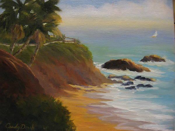 Laguna Beach Painting - Laguna Sail by Candace Doub
