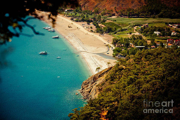 Photograph - Laguna Seascape Turkey by Raimond Klavins