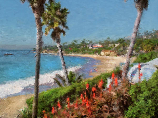 Laguna Beach Mixed Media - Laguna Summers by John Loyd Rushing