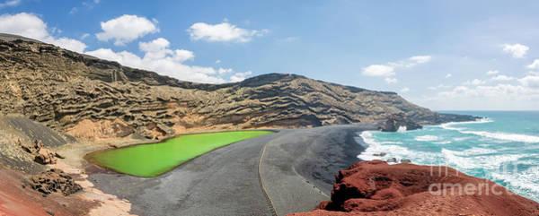 Lava Lakes Photograph - Laguna Verde by Delphimages Photo Creations