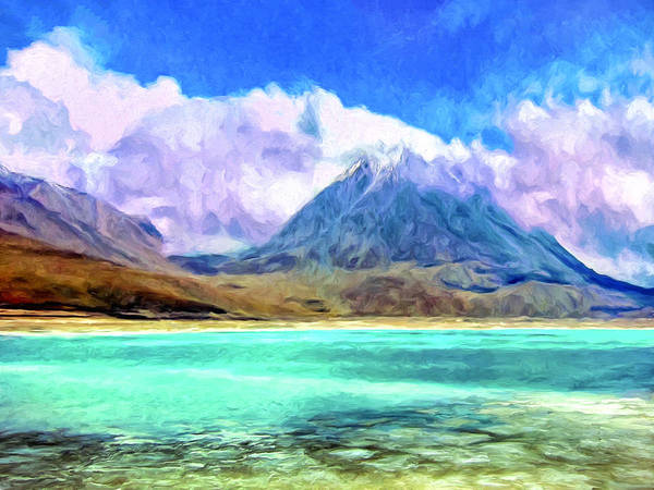 Painting - Laguna Verde by Dominic Piperata