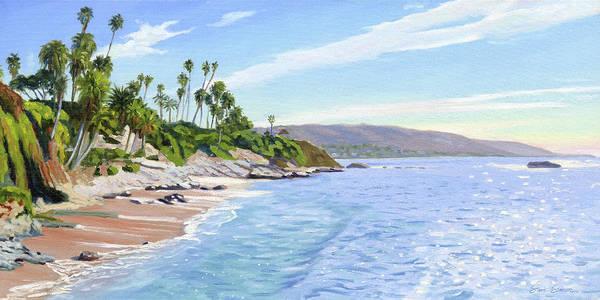 Wall Art - Painting - Laguna Vista by Steve Simon