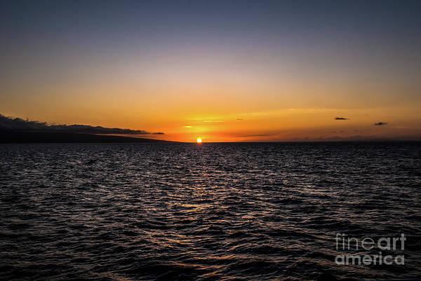 Lahaina Sunset Art Print