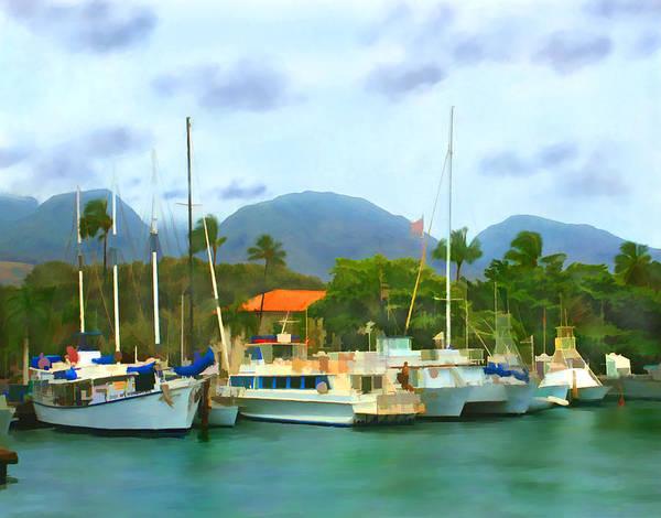 Photograph - Lahina Harbor by Kurt Van Wagner