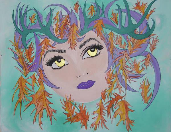 Laidy Gaga Number Two Art Print