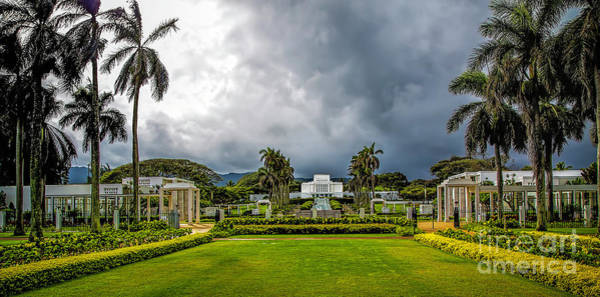 Photograph - Laie Temple by Jon Burch Photography