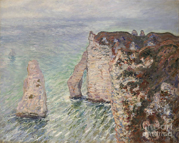 Painting - L'aiguille And The Porte D'eval by Celestial Images