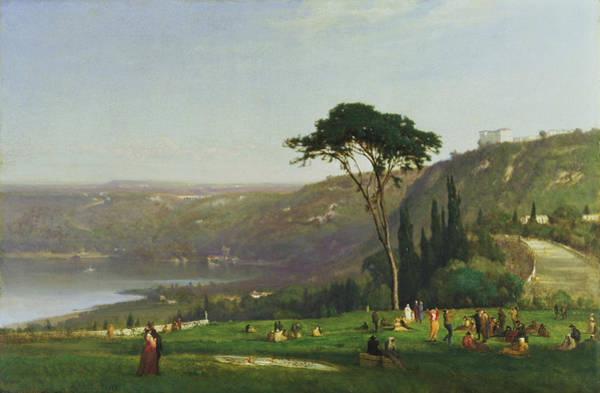 Painting - Lake Albano by George Inness