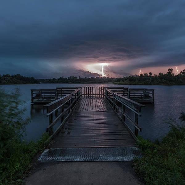 Photograph - Lake Alvin Liightning by Aaron J Groen
