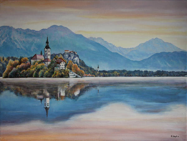 Andy Lloyd - Lake and Mountains in Slovenia