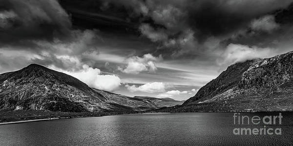 Photograph - Lake And Mountains Snowdonia by Adrian Evans