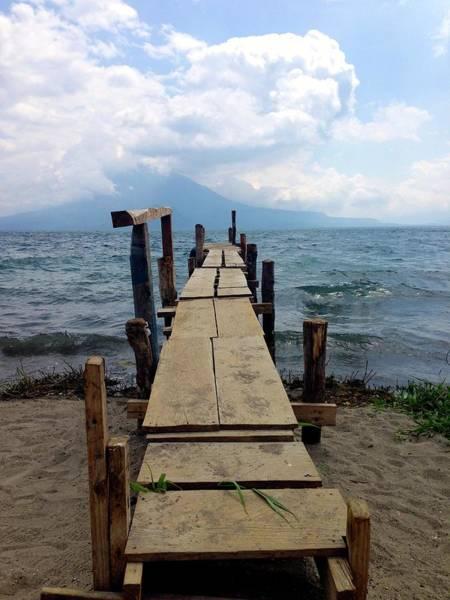 Photograph - Lake Atitlan Dock by Brian Eberly