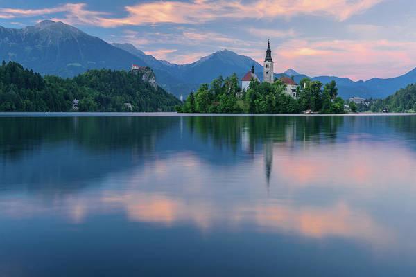 Wall Art - Photograph - Lake Bled by Christian Heeb
