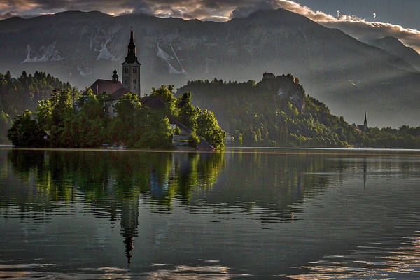 Photograph - Lake Bled Morning #3 - Slovenia by Stuart Litoff