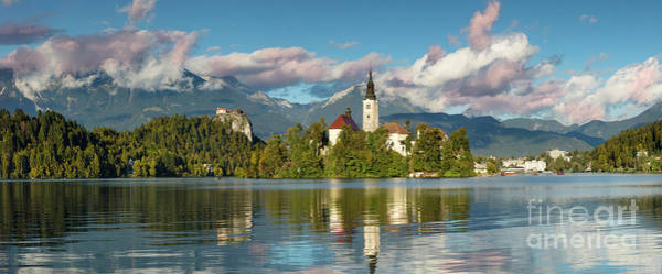 Wall Art - Photograph - Lake Bled Panoramic by Brian Jannsen