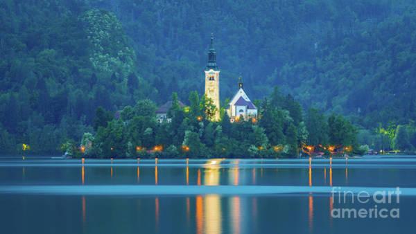 Lake Bled, Slovenia Art Print