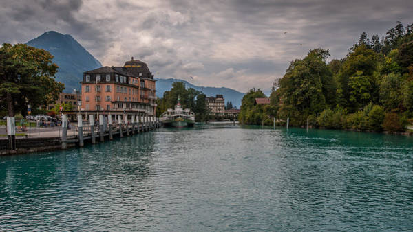 Photograph - Lake Brienz Switzerland by Brenda Jacobs