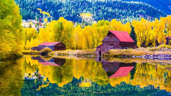 Photograph - Lake City Reflections by Jim McCain