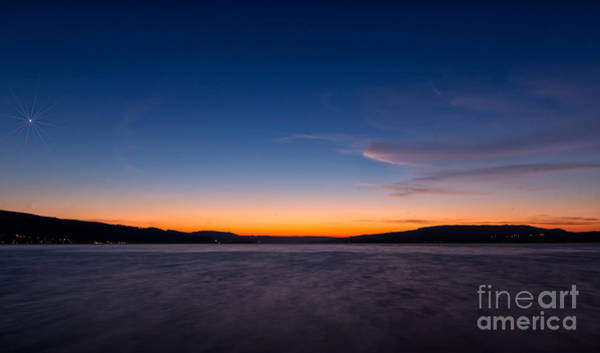 Photograph - Sunset Over Lake Constance by Bernd Laeschke