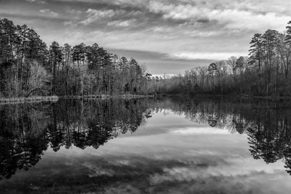 Photograph - Lake Crawford 03 Bw by Jim Dollar
