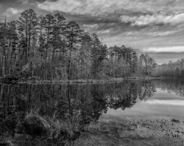 Photograph - Lake Crawford 04 Bw by Jim Dollar