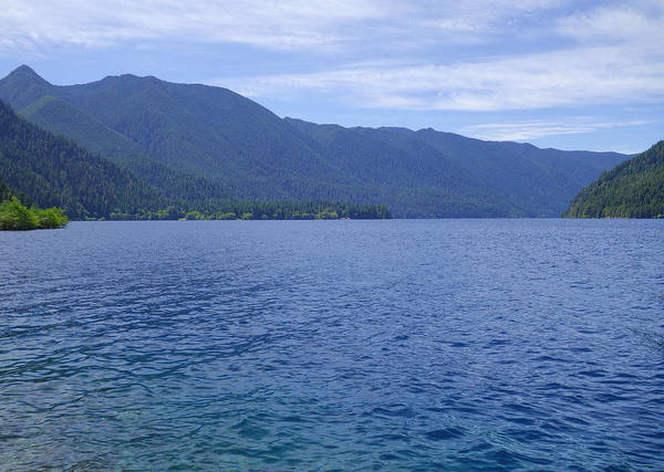 Wall Art - Photograph - Lake Crescent by Dan Sproul