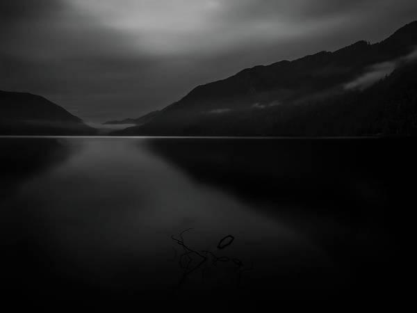 Photograph - Lake Crescent 9 by Thomas Hall
